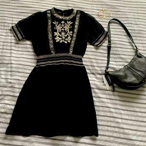Zara New size M Boho sheer dress.Never worn. 2019